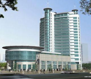 Cát Bi Plaza (Cat Bi Plaza) – Hải Phòng - TLE Group - Đại lý cung cấp thang máy Mitsubishi chính hãng