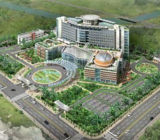 Bệnh viện đa khoa trung tâm An Giang - TLE Group - Đại lý cung cấp thang máy Mitsubishi chính hãng