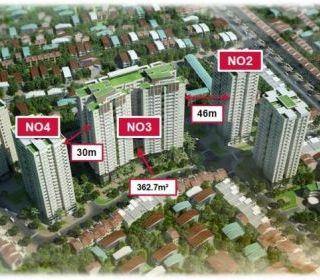 Tòa nhà N03 – Dự án khu nhà ở cao tầng để bán, Bồ Đề, Long Biên, Hà Nội - TLE Group - Đại lý cung cấp thang máy Mitsubishi chính hãng