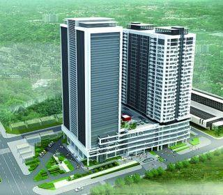 Mipec Tower 20 Cộng Hòa – TP.Hồ Chí Minh - TLE Group - Đại lý cung cấp thang máy Mitsubishi chính hãng
