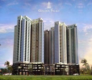 Tổ hợp văn phòng, thương mại và chung cư cao cấp Golden Palace, Mễ Trì, Hà Nội - TLE Group - Đại lý cung cấp thang máy Mitsubishi chính hãng
