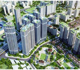 CT2- Dự án khu đô thị mới Kim Văn, Hà Nội - TLE Group - Đại lý cung cấp thang máy Mitsubishi chính hãng
