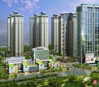 Nhà chung cư cao tầng 1A – 136 Hồ Tùng Mậu - TLE Group - Đại lý cung cấp thang máy Mitsubishi chính hãng