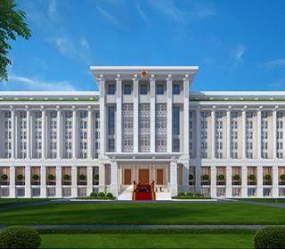 Tòa nhà làm việc của Chính phủ - TLE Group - Đại lý cung cấp thang máy Mitsubishi chính hãng