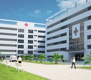 Bệnh viện Đa khoa Phúc Yên - TLE Group - Đại lý cung cấp thang máy Mitsubishi chính hãng