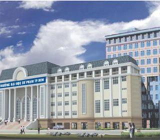 Trường ĐH Sư Phạm TP HCM (Nhà học B) - TLE Group - Đại lý cung cấp thang máy Mitsubishi chính hãng
