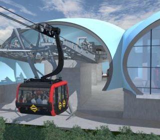 Nhà ga đi cáp treo Hòn thơm – Phú Quốc - TLE Group - Đại lý cung cấp thang máy Mitsubishi chính hãng