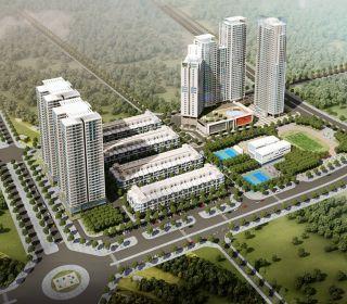 Khu nhà cao tầng CT1A, CT1B Hải Đăng City - TLE Group - Đại lý cung cấp thang máy Mitsubishi chính hãng