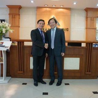 TLE đón tiếp quản lý cấp cao của Mitsubishi Nhật Bản đến thăm và làm việc