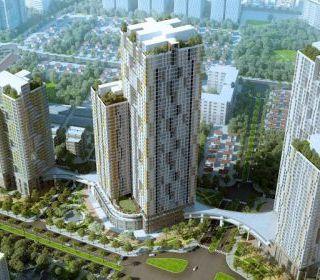 Tòa nhà 105-CT2 – Khu đô thị mới Văn Khê mở rộng - TLE Group - Đại lý cung cấp thang máy Mitsubishi chính hãng