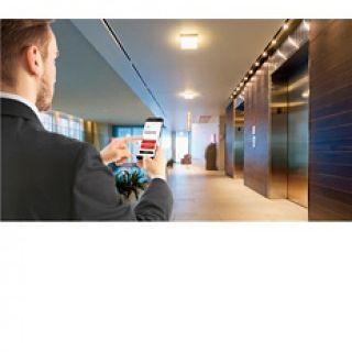 Hệ thống gọi thang máy bằng điện thoại thông minh – sản phẩm mới của Mitsubishi
