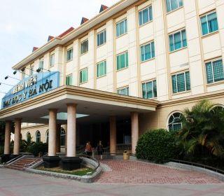 Bệnh viện Đại học Y Hà Nội - TLE Group - Đại lý cung cấp thang máy Mitsubishi chính hãng