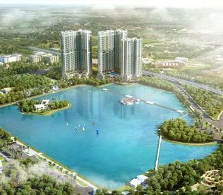 Khu nhà ở cao tầng E2, Khu đô thị mới Yên Hòa - TLE Group - Đại lý cung cấp thang máy Mitsubishi chính hãng